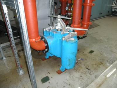 150mm  Duplex Filter  JM Plant Royston
