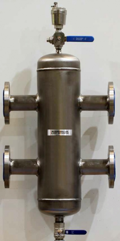 Stainless-Steel-Hydronic-Separator-Low-Loss-Header